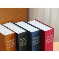 Két mini giả sách từ điển size trung, màu đen, khóa mã số