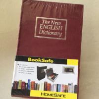 Két mini ngụy trang sách từ điển size lớn, màu đỏ, khóa chìa