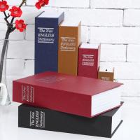 Két mini cuốn từ điển size lớn, màu vàng nâu, khóa chìa